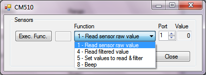 CM-510 Sensors and Functions