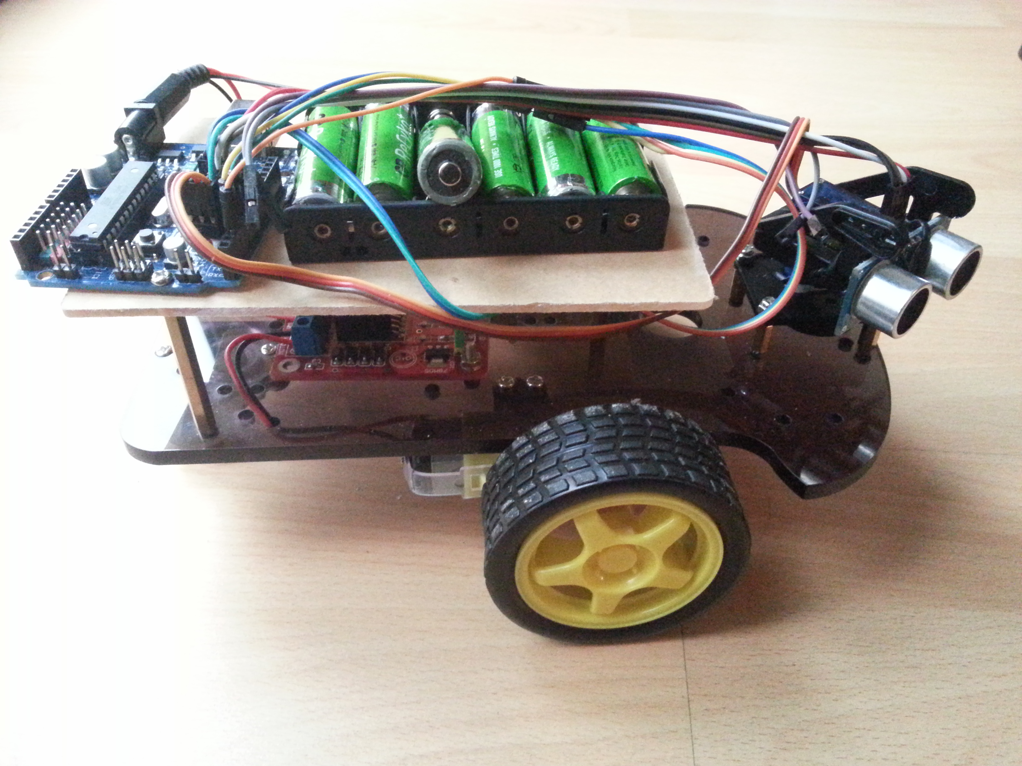 Cheapest arduino based robot parts examples of use and